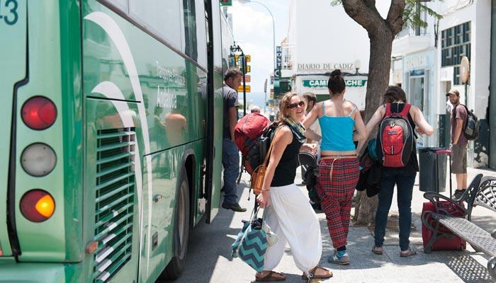 Sprachreise Bus