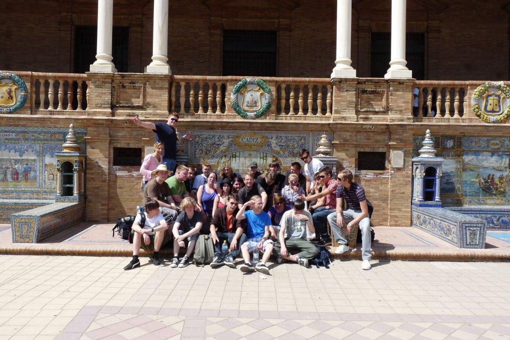 Sevilla City Sprachschüler